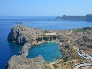 Postal: Isla de Rodas (Grecia)