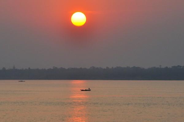 Lago Sap (Tonlé Sap), en Camboya