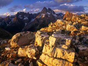Montañas Columbia, entre Canadá y Estados Unidos
