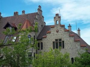 Postal: Castillo de Liechtenstein (Austria)