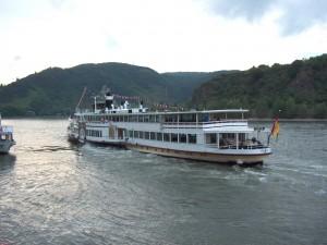 Transporte de pasajeros por el río Rin (Alemania)