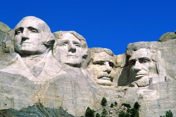 El Memorial Nacional Monte Rushmore (Dakota del Sur, Estados Unidos)