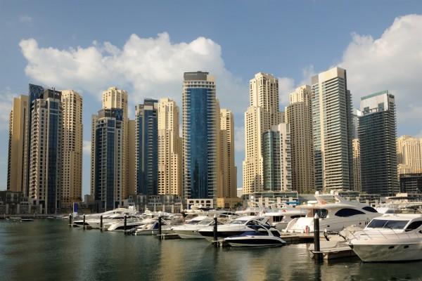Dubai Marina (Emiratos Árabes Unidos)