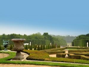 Postal: Los Jardines de Versalles (Francia)