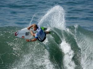 El surfista profesional Mick Fanning