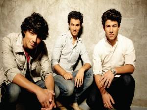 Postal: Jonas Brothers: Kevin Jonas, Joe Jonas y Nick Jonas
