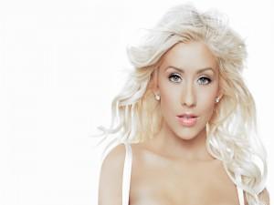 La super-rubia Christina Aguilera