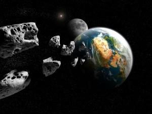 Asteroides pasando muy cerca de la Tierra