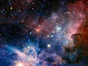 Postal: Nebulosa de la Quilla