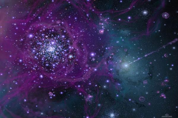 Un universo plagado de estrellas