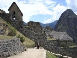 Postal: Ruinas incas de Machu Picchu, en Perú