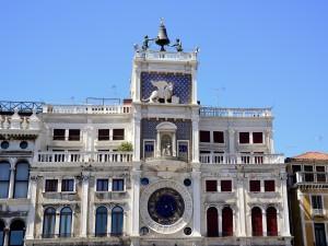 Torre dell'Orologio, en la plaza de San Marcos (Venecia, Italia)