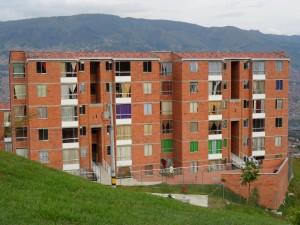 Postal: Edificio de apartamentos