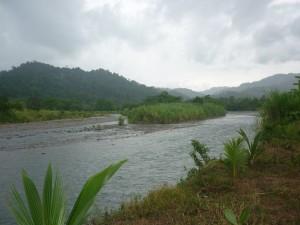Postal: Río Pacuare, en Siquirres, Costa Rica