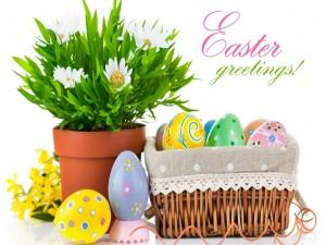 ¡Saludos de Pascua!