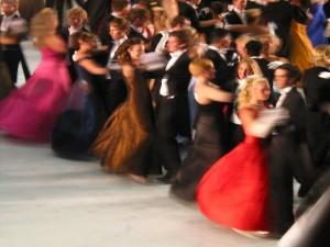Postal: Baile de salón