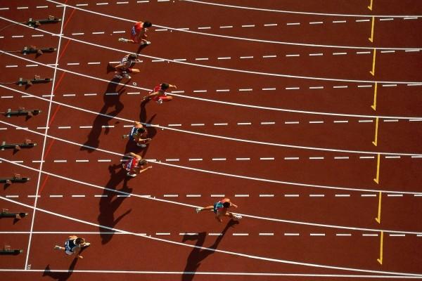 Carrera de atletismo