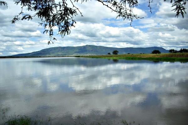 Lago en el municipio de La Barca (Jalisco, México)