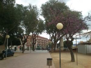 Una calle de Murcia, España