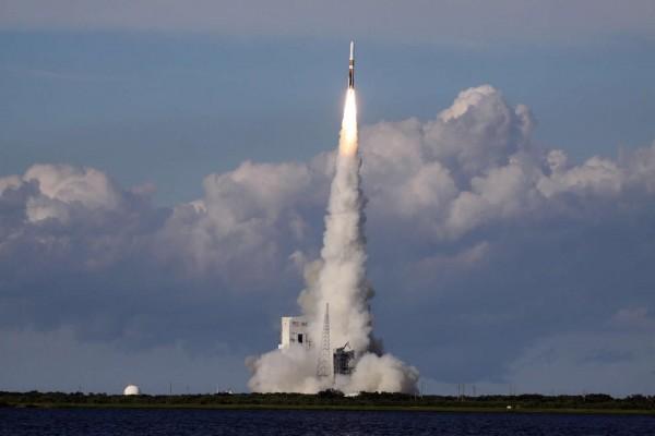 Lanzamiento del cohete Delta IV (NASA)