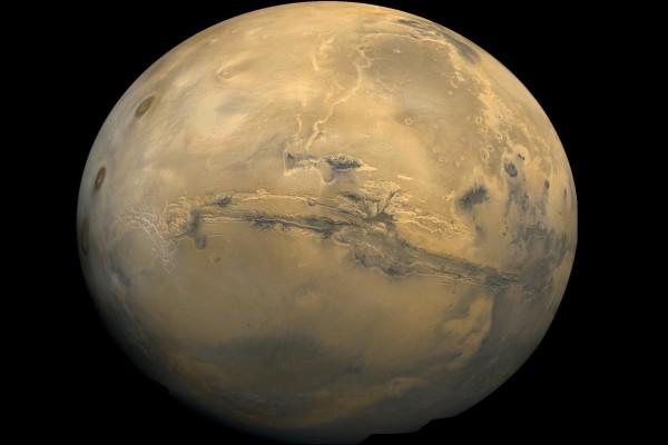 Una foto nítida del planeta Marte