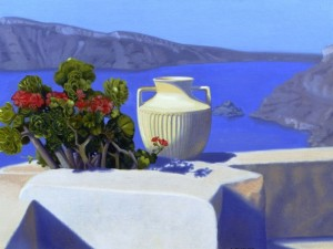 """Morning offering santorini"" de James Childs"