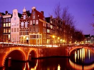 Noche en Ámsterdam, Países Bajos