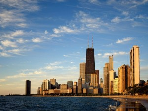 Postal: Skyline de Chicago, Illinois