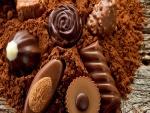 Bombones y cacao en polvo
