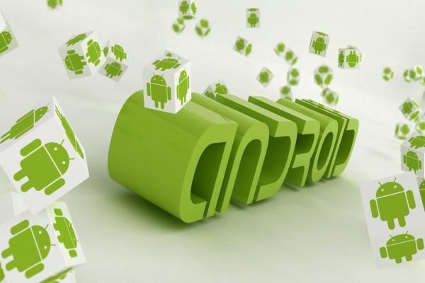 Logo de Android en 3D