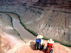 Postal: Descansando de la ruta (Río Colorado, Utah)