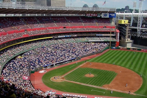 Estadio de los Rojos de Cincinnati (Cincinnati Reds)