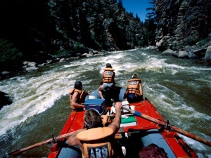 Descenso de ríos (rafting)