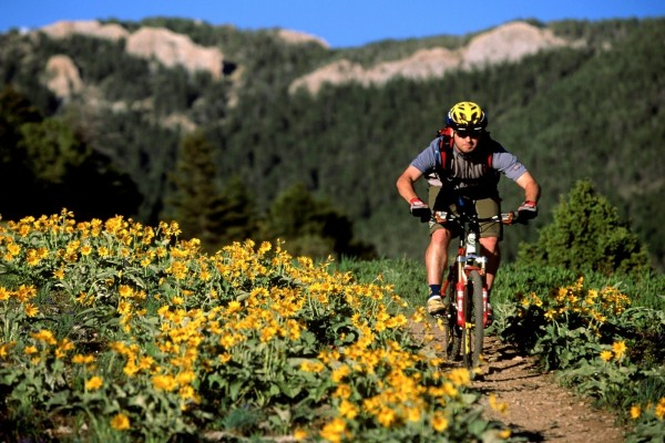 Mountain bike en Bozeman, Montana (Estados Unidos)