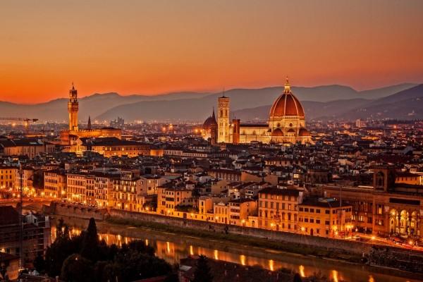 Catedral de Santa María del Fiore, en Florencia, Italia