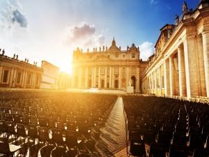Postal: Basílica de San Pedro (Ciudad del Vaticano)