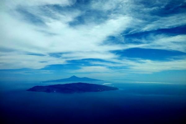 Isla de La Gomera, en las islas Canarias (España)