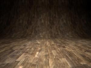 Postal: Suelo de madera