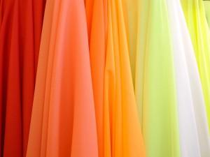 Telas de colores