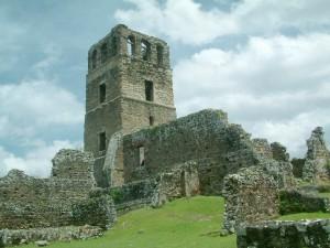 Postal: Ruinas de Panamá la Vieja