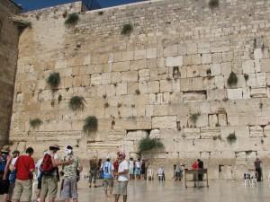 Postal: El Muro de las Lamentaciones (Jerusalén)