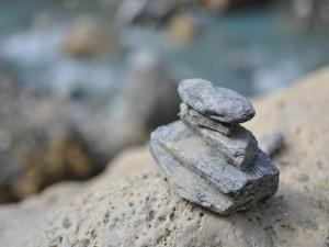 Montículo de piedras