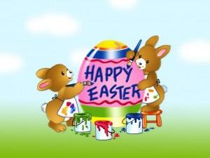 Postal: ¡Felices Pascuas!