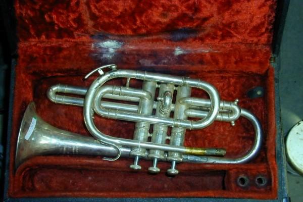 Una vieja trompeta