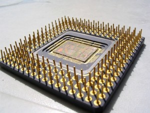 Patillas de un microprocesador