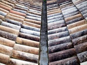 Tejado de tejas