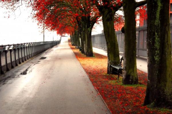 Langelinie, en Copenhague, Dinamarca