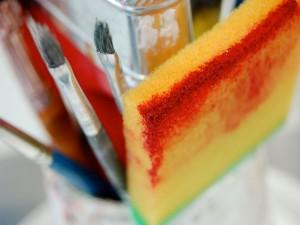 Herramientas de un pintor