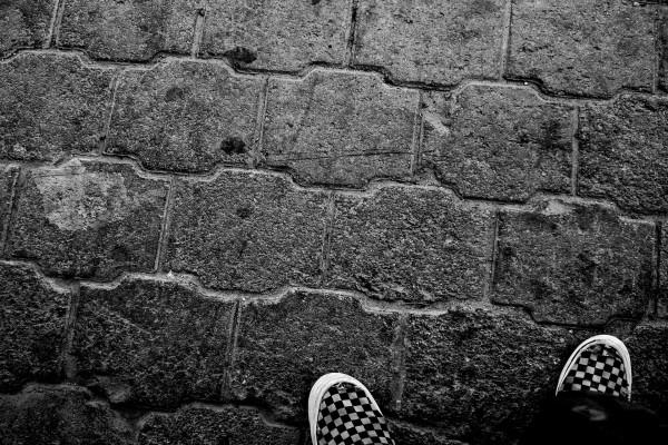 Me veo las zapatillas