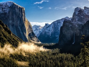 Postal: Parque nacional de Yosemite, California, Estados Unidos